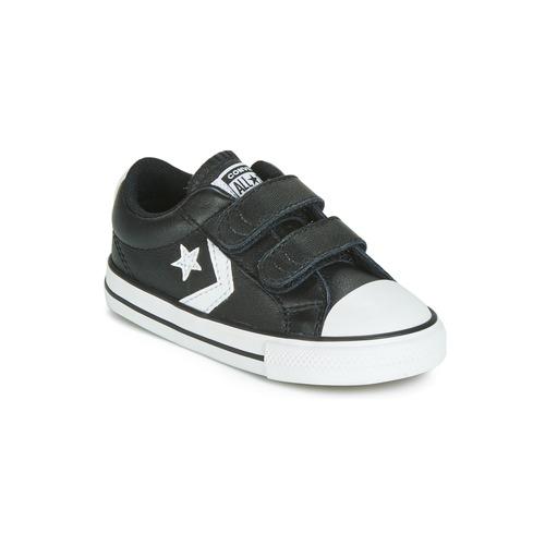 Converse Star Player Ev 2V Ox Kids Sports Shoes Black Various sizes