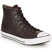 Shoes Men High top trainers Converse CHUCK TAYLOR ALL STAR WINTER LEATHER BOOT HI Brown
