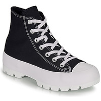 Shoes Women High top trainers Converse CHUCK TAYLOR ALL STAR LUGGED HI Black