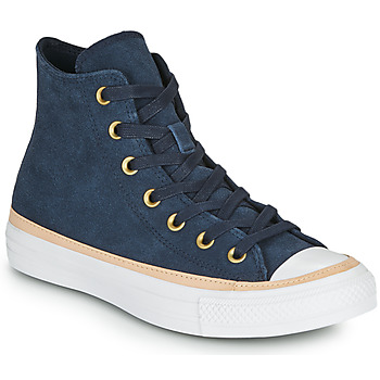 Shoes Women High top trainers Converse CHUCK TAYLOR ALL STAR VACHETTA LEATHER HI Marine