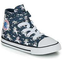 Shoes Girl High top trainers Converse CHUCK TAYLOR ALL STAR 1V UNICONS HI Blue