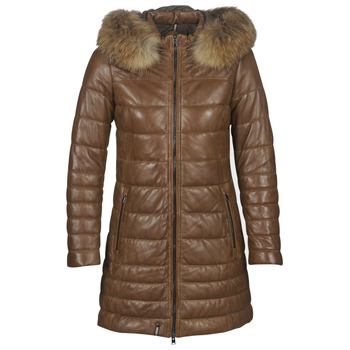 material Women Duffel coats Oakwood MARY Cognac