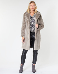 material Women coats Oakwood CYBER Dark / Beige