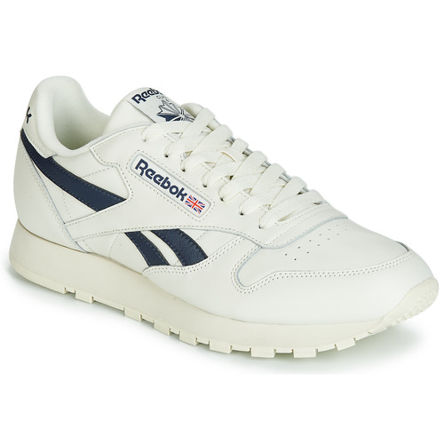 exclusive shoes no sale tax cheap prices Reebok Classic CL LEATHER MU White / Black - Fast delivery ...