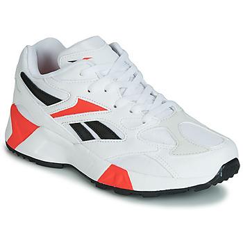 Shoes Boy Low top trainers Reebok Classic AZTREK 96 J White