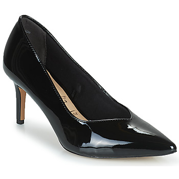 Shoes Women Court shoes Tamaris JULIANE Black / Gold