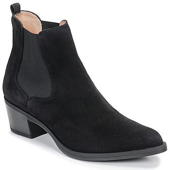 Shoes Women Ankle boots Unisa GREYSON Black