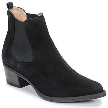 Shoes Women Ankle boots Unisa GREYSON Black