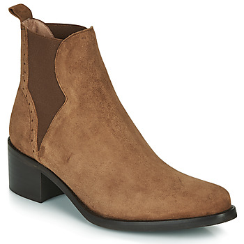 Shoes Women Ankle boots Myma PALMA Cognac