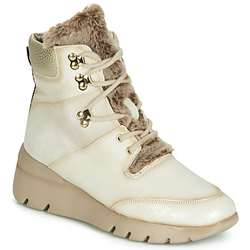 Shoes Women Mid boots Hispanitas RUTH Beige