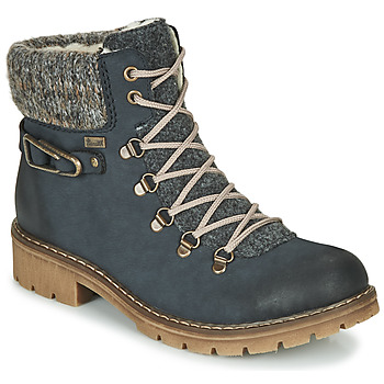 Shoes Women Mid boots Rieker Y9131-16 Blue
