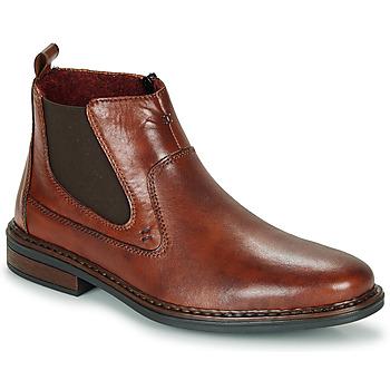 Shoes Men Mid boots Rieker DANE Brown