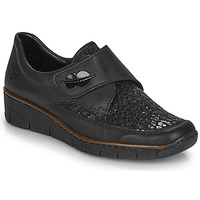 Shoes Women Loafers Rieker 537C0-02 Black
