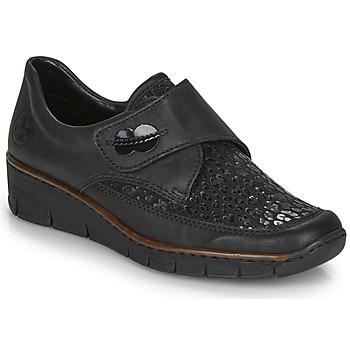 Shoes Women Derby shoes Rieker 537C0-02 Black