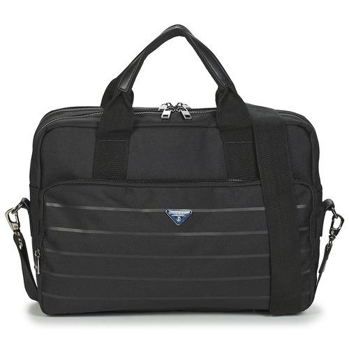Bags Men Briefcases Serge Blanco GOLDEN EAGLE Black