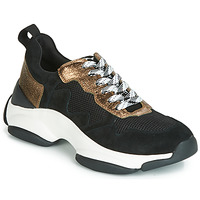 Shoes Women Low top trainers Mam'Zelle HELIUM Black / Bronze