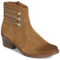 Shoes Women Mid boots Mam'Zelle JUDITH Cognac