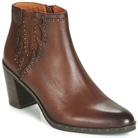 Shoes Women Ankle boots Mam'Zelle NULOMA Brown