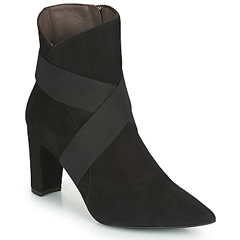 Shoes Women Ankle boots Perlato 11327-CAM-NOIR Black