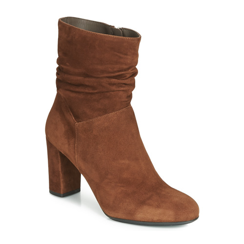 Shoes Women Ankle boots Perlato 11265-CAM-COGNAC Cognac