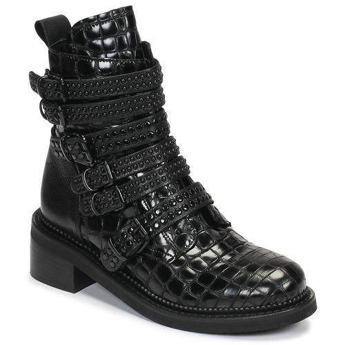 Shoes Women Mid boots Mimmu RIPTILUS Black