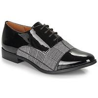 Shoes Women Derby shoes Moony Mood FEZILLA Black / Grey