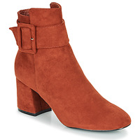 Shoes Women Ankle boots Moony Mood FAZIOLE Rust