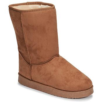 Shoes Women Mid boots Spot on JULIA Beige