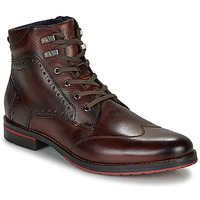 Shoes Men Mid boots Bugatti HUGUES Brown