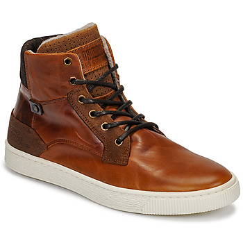 Shoes Men High top trainers Bullboxer 648K55858A2501 Brown