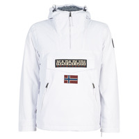 material Men Parkas Napapijri RAINFOREST POCKET White