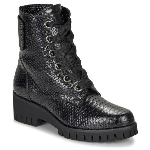 Shoes Women Mid boots Sweet Lemon DASHA Black