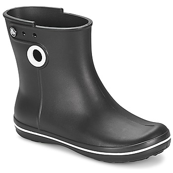 Shoes Women Wellington boots Crocs JAUNT SHORTY BOOT W-BLACK Black