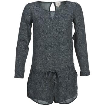 material Women Jumpsuits / Dungarees Petite Mendigote LOUISON Black / Grey