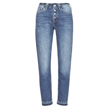 material Women straight jeans Pepe jeans MARY REVIVE Blue / Medium