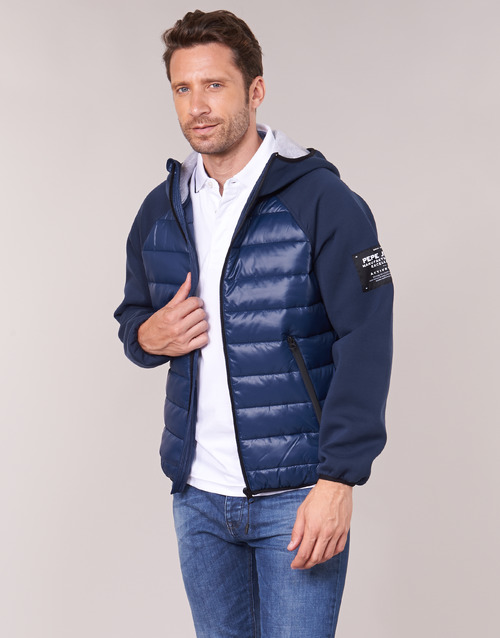 Pepe Jeans Bora Marine Fast Delivery Spartoo Europe Material Blouses Men 104 00