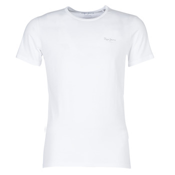 material Men short-sleeved t-shirts Pepe jeans BASIC NOS White