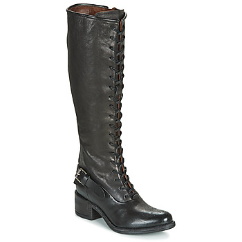 Shoes Women Boots Airstep / A.S.98 OPEA LACE Black