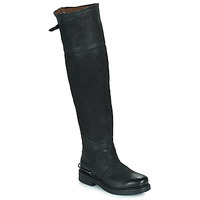 Shoes Women Boots Airstep / A.S.98 BRET HIGH Black
