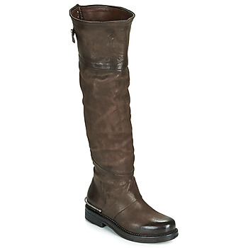 Shoes Women Boots Airstep / A.S.98 BRET HIGH Brown