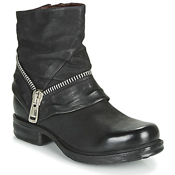 Shoes Women Mid boots Airstep / A.S.98 SAINT EC ZIP NEW Black