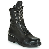 Shoes Women Mid boots Airstep / A.S.98 BRET METAL Black