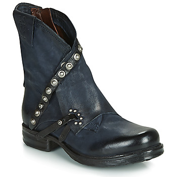 Shoes Women Mid boots Airstep / A.S.98 SAINT EC RIVET Blue