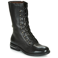 Shoes Women Mid boots Airstep / A.S.98 TEAL LACE Black