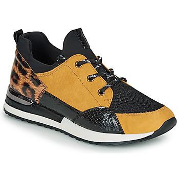 Shoes Women Low top trainers Remonte Dorndorf R2503-70 Black