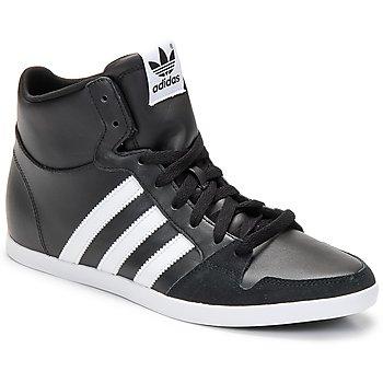 Shoes Men High top trainers adidas Originals ADILAGO MID Black / White