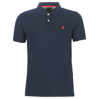 material Men short-sleeved polo shirts Timberland SS MR Polo Slim DARK SAPPHIRE Marine