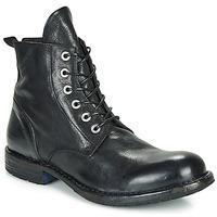 Shoes Men Mid boots Moma CUSNA NERO Black
