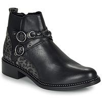 Shoes Women Mid boots Regard ROABIL V2 METALCRIS Black