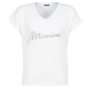 material Women short-sleeved t-shirts Marciano CRYSTAL White